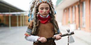 Young actress Edwina Royce in Cherokee (2014)