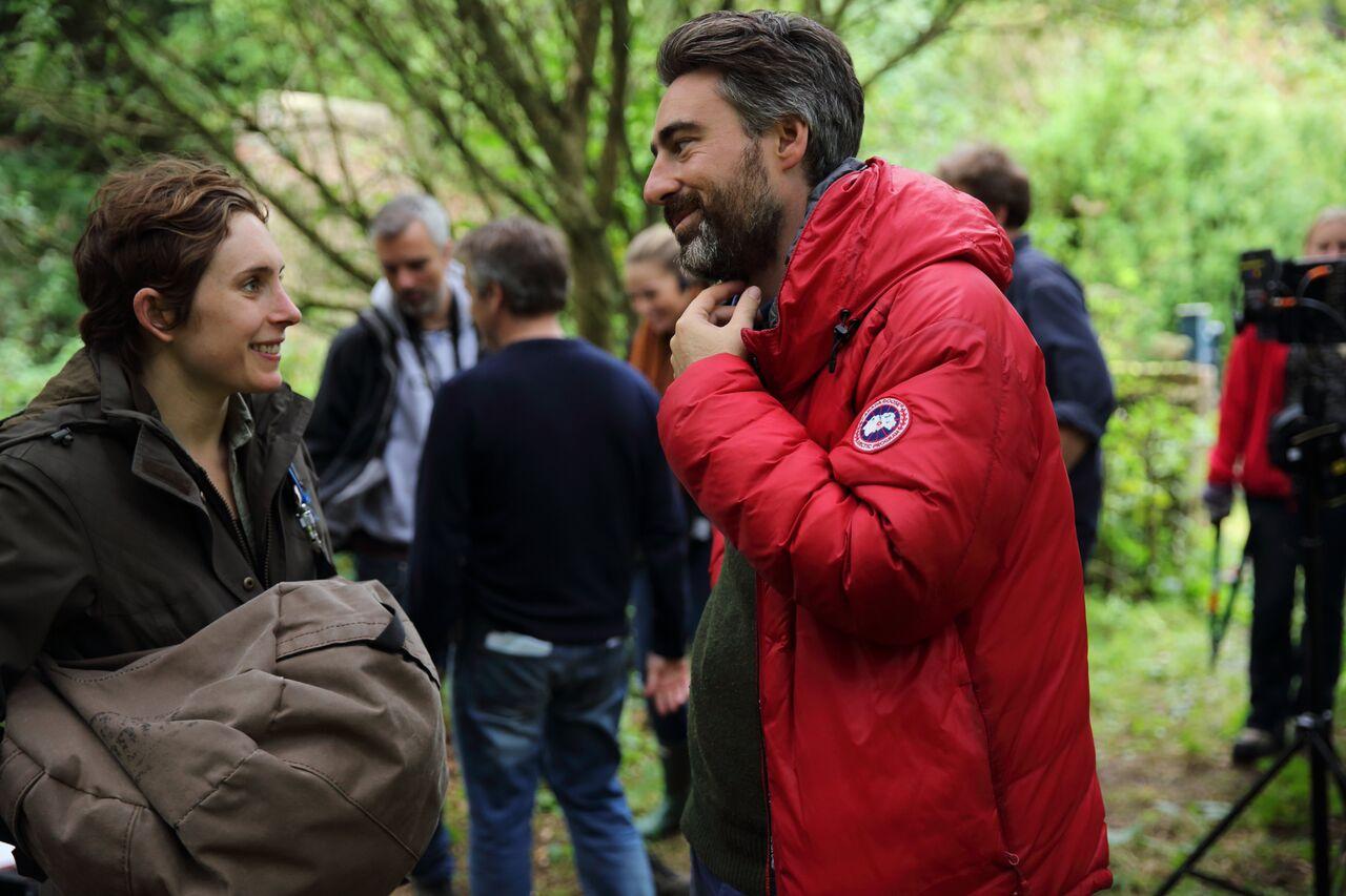 Ari Wegner with Lady Macbeth Director, Will Oldroyd. Image by Laurie Sparham.