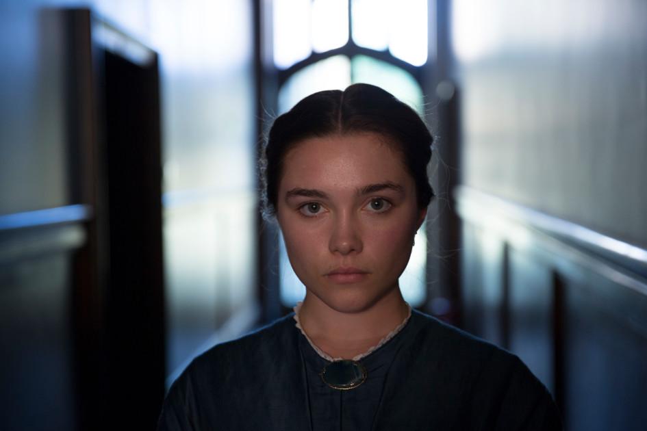 Florence Pugh as Katherine Macbeth, Lady Macbeth, 2017. Image supplied.