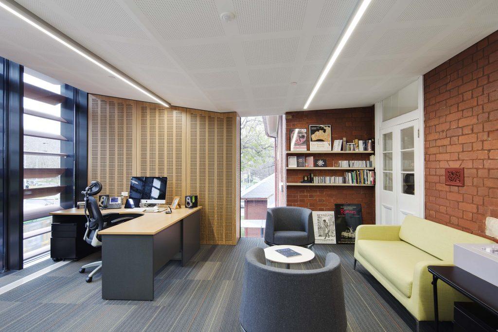 The Dean's office. Photographer: Ben Hosking.