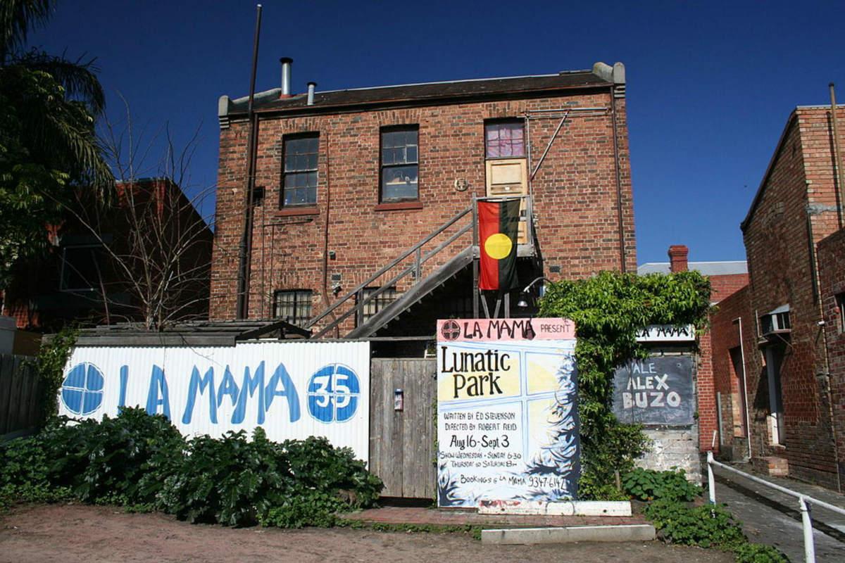 La Mama Theatre. Wikimedia
