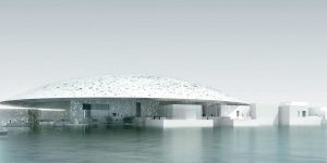 The Louvre Abu Dhabi.
