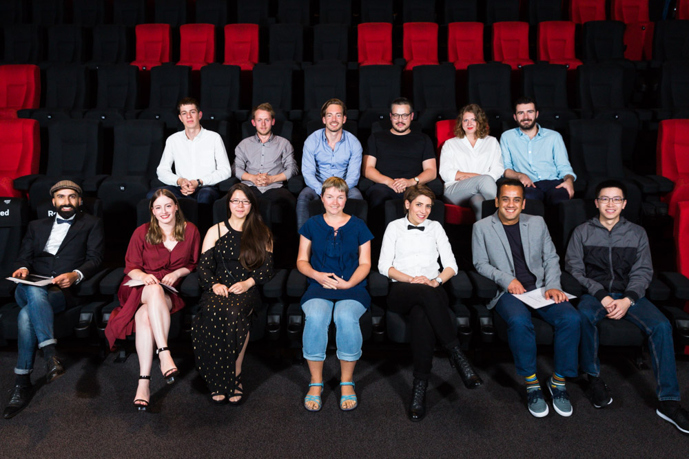The recipients of the 49th Annual Film and Television Graduate Awards. Photo: Drew Echberg.