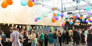 ART150 launch party. Photo: Drew Echberg, 2017.