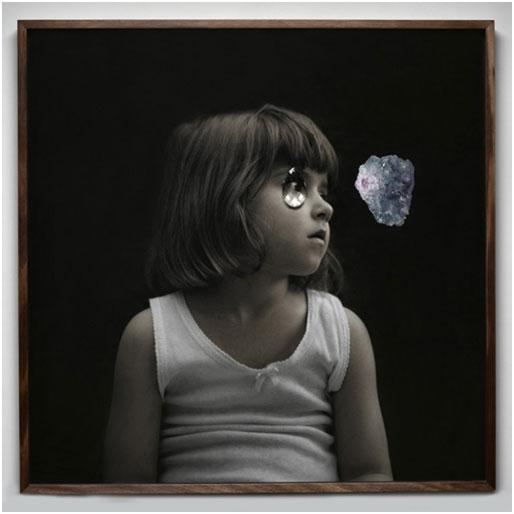 'Sunny', 2010, Digital Print, Crystal, Oak. 100cm x 100cm, Veroncia Kent