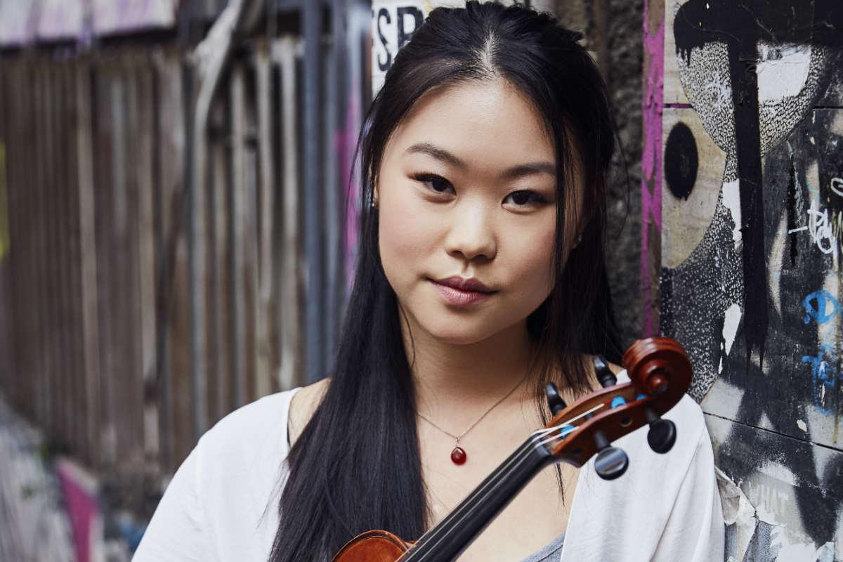 Melbourne Conservatorium of Music violinist Amy You