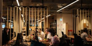 The ACMI X co-working space. Image supplied.