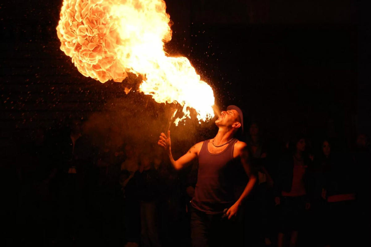 Fire breather. Laura Canovaro/Flickr