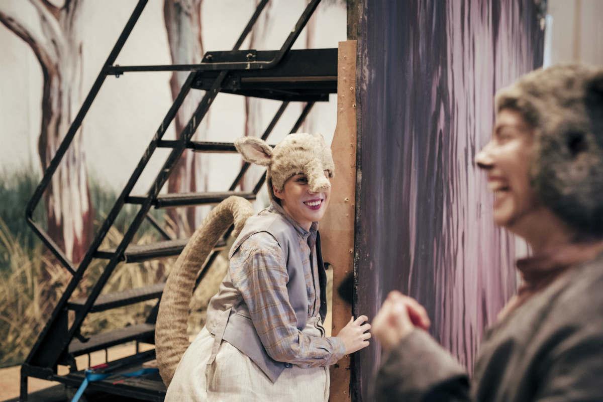 Melbourne Conservatorium alumnae Shakira Tsindos and Shakira Dugan in The Magic Pudding. Image by Charlie Kinross.