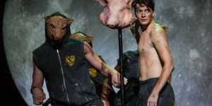 Patrick Weir in Lord of the Flies, Arts Centre Melbourne, 2017. Photo by Mark Gambino.
