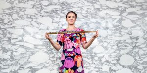 Flautist and Master of Music (Orchestral Performance) student Lauren Gorman. Photo by Giulia McGauran.