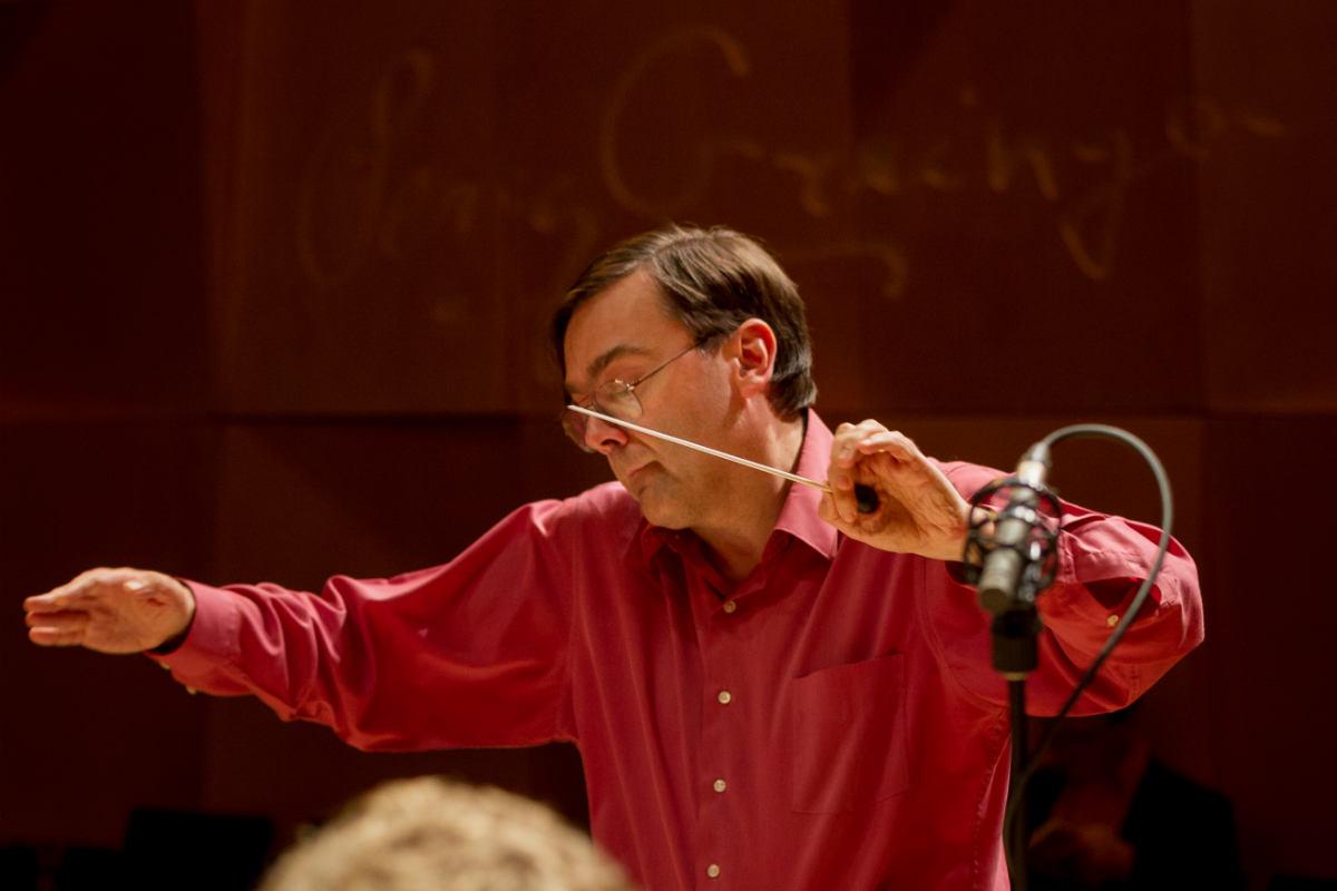 Composer Elliott Gyger. Photo by Sav Schulman, 2017.