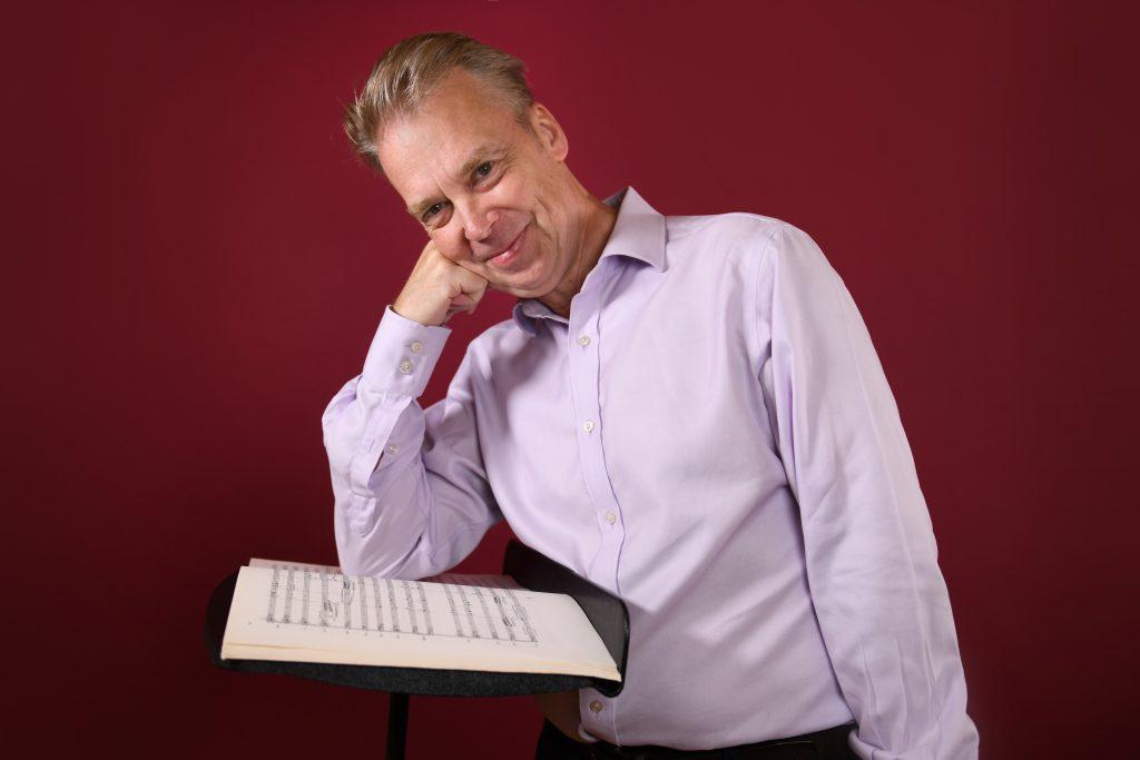 Head of Orchestral Studies, Associate Professor Richard Davis. By Giulia McGauran.