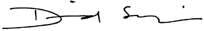 David Sequeira signature