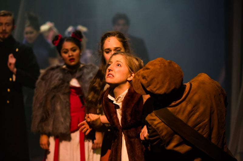 Into the Woods, presented by graduating Music Theatre and Production students. Photo by Drew Echberg.