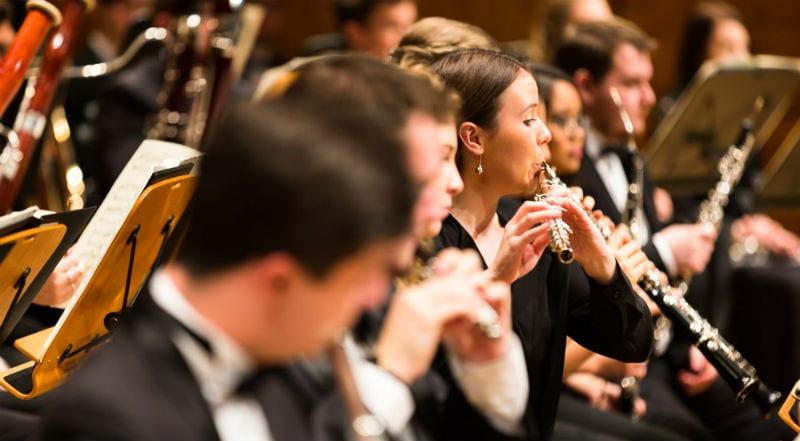 Flautist Lauren Gorman. Photo by Drew Echberg.