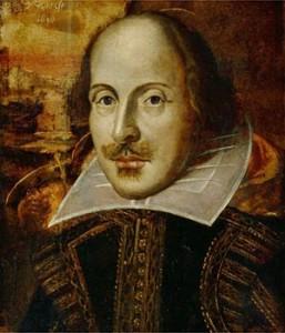 William Shakespeare. Photo: wikimedia commons