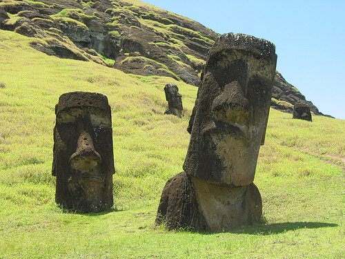 Easter Island Heads Spiritual Meaning
