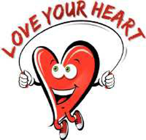 Love your heart ,Skipping rope is the heart workout ...