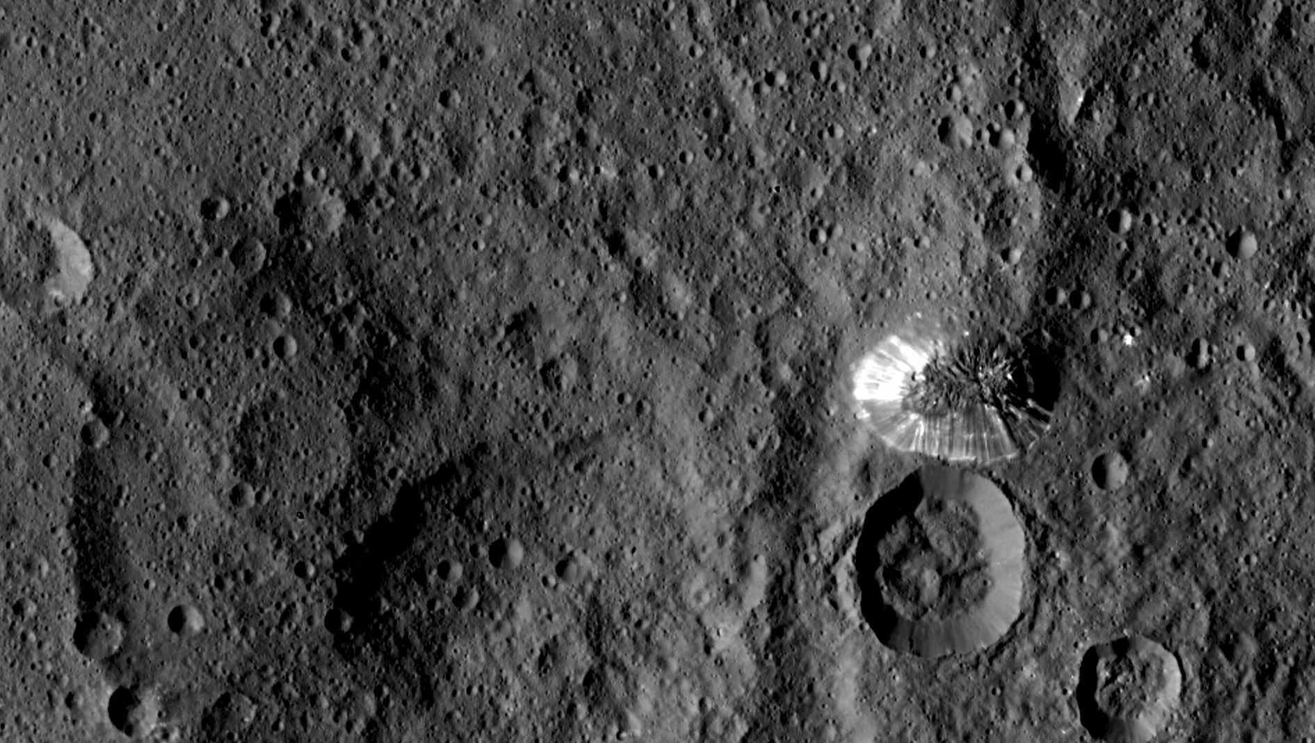 Ahuna Mons. Credit: NASA