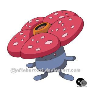 pokemon_045__vileplume_by_aflakhurrozi-d37rfmr