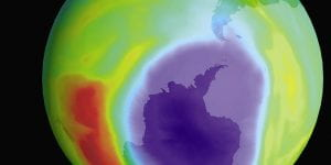 Stratospheric chemistry in the Southern Hemisphere