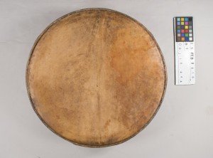 Drum before treatment, top view