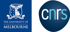 unimelb and cnrs logos