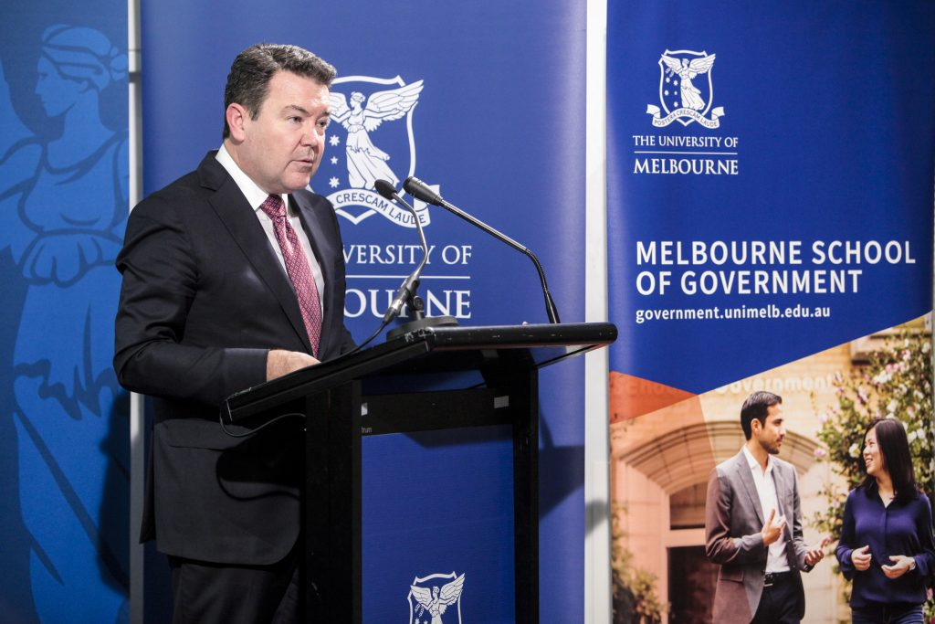 McKinnon Oration – Dean Smith