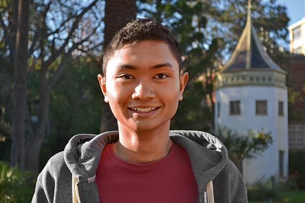 Abdul Jabbar (AJ) Salful Hilmi, Bachelor of Agriculture, Sustainable Production major.