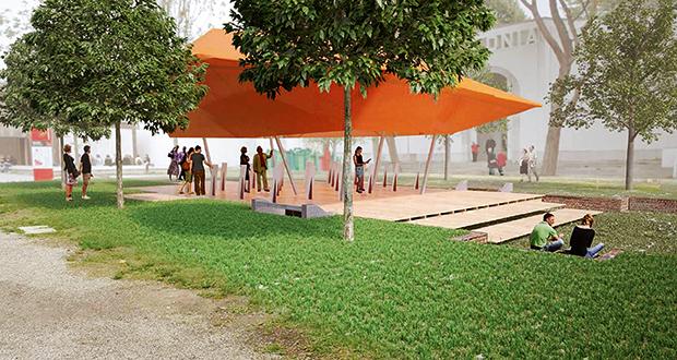 Cloud Space, the Australian Pavilion at the 2014 Venice Architecture Biennale.