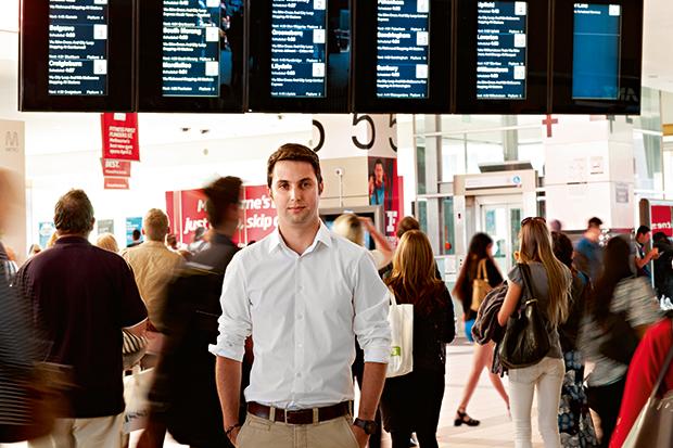 Eduardo Velasquez, People's Choice winner, 2013 Flinders Street Station Design Competition.