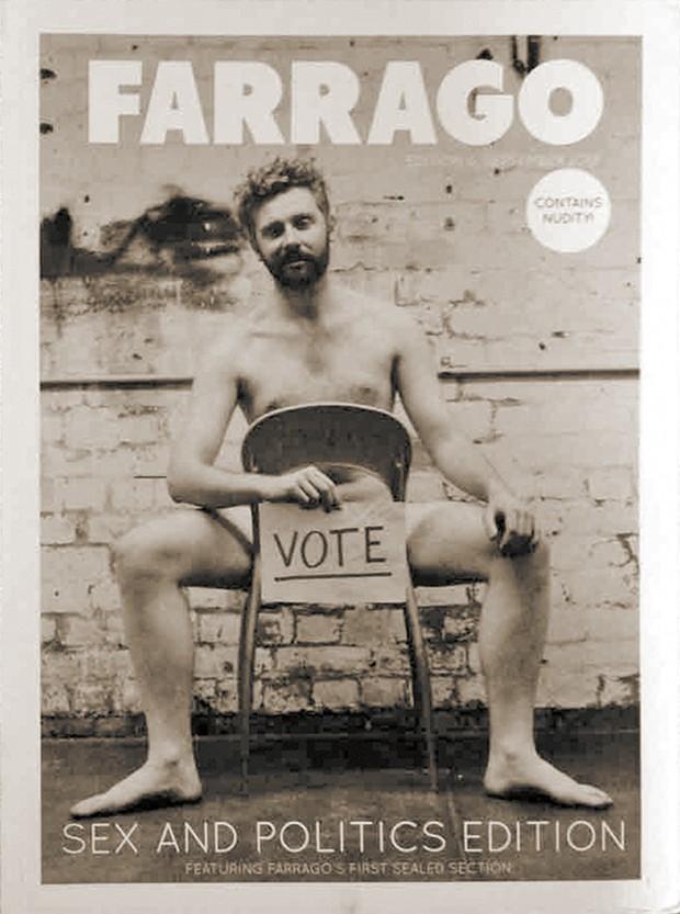 Farrago cover