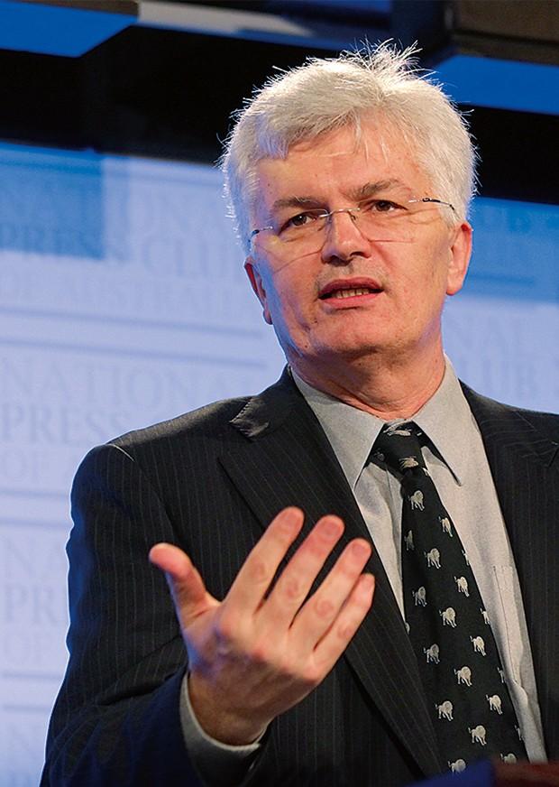 Professor Glyn Davis AC , Vice-Chancellor