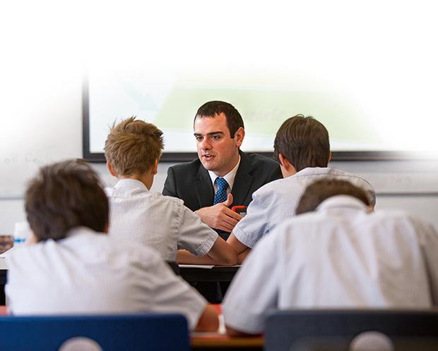 Melbourne Graduate School of Education alumnus Matthew McDonald