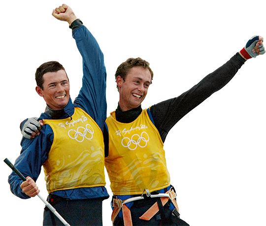 Tom King OAM and Mark Turnbull OAM