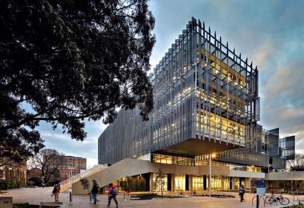 The new Melbourne School of Design Building (Picture: John Gollings)