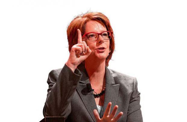 Alumni and former Prime Minister Julia Gillard
