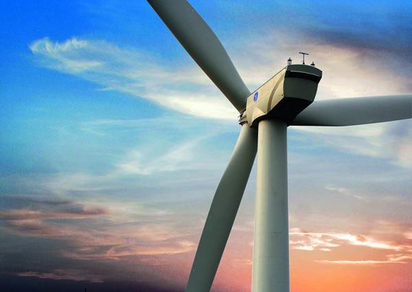 GE wind turbines of type being used in AGL Energy's Powering Australian Renewables Fund (PARF)'s 453 MW Cooper's Gap wind farm development, 250 ks NW Brisbane, with a budget of $850m. 3.2-103 Wind Turbine at Biga Res Wind Farm, Turkey