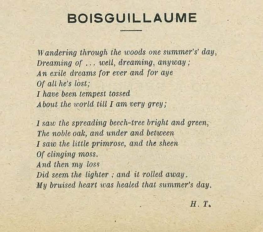 Boisguillaume, The Derniere Heure
