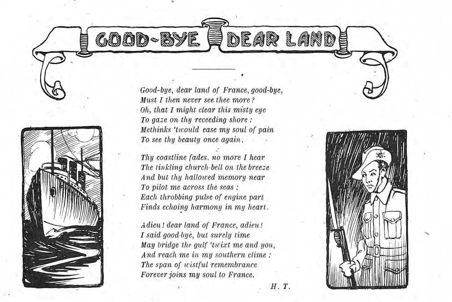 Goodbye Dear Land, Derniere Heure