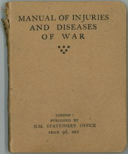 Manual of Injuries and Diseases of War