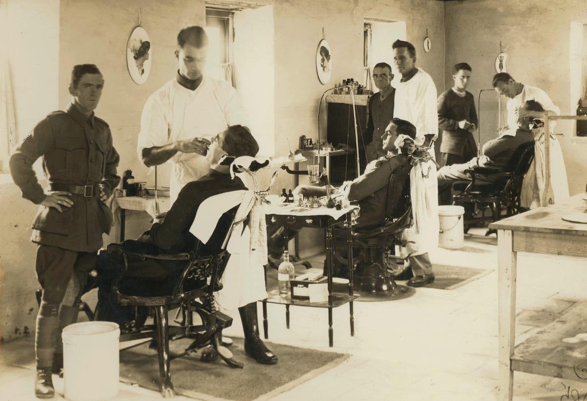 Dental hospital, Egypt, 1918