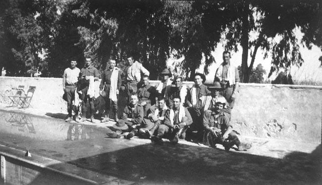 Mena House baths, Egypt, 1914