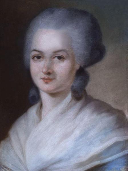 Portrait of Olympe de Gouges