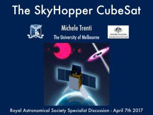 SkyHopper – Page 3 – A pioneering new cubesat space