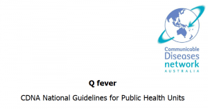 The Series of National Guidelines (SoNGs) have been developed in consultation with the Communicable Diseases Network Australia (CDNA) and endorsed by the Australian Health Protection Principal Committee (AHPPC).