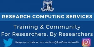 Research Computing Services - Training and Community for Researchers, By Researchers