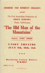 The Old Man of the Mountains 1953 Flyer