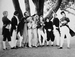 The Hero Rises Up 1970 Cast Photo